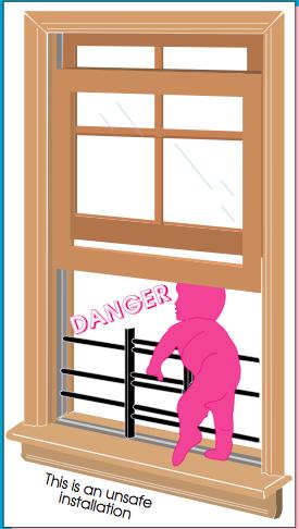 Child Window Fall
