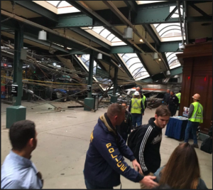 Serious Hoboken Train Crash