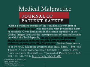 Medical Harm